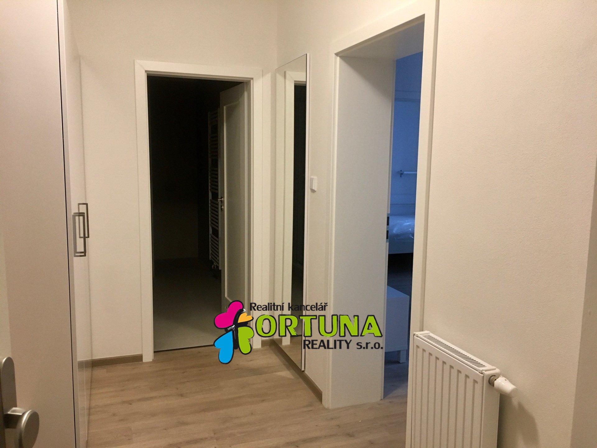 Pronájem zařízeného bytu 2+kk, ul. K. Weise, České Budějovice